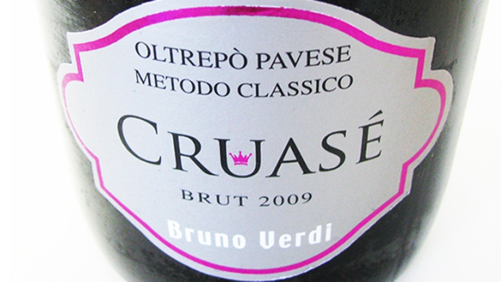 DOCG Oltrepò Pavese Pinot Nero Cruasé - Bruno Verdi 2009
