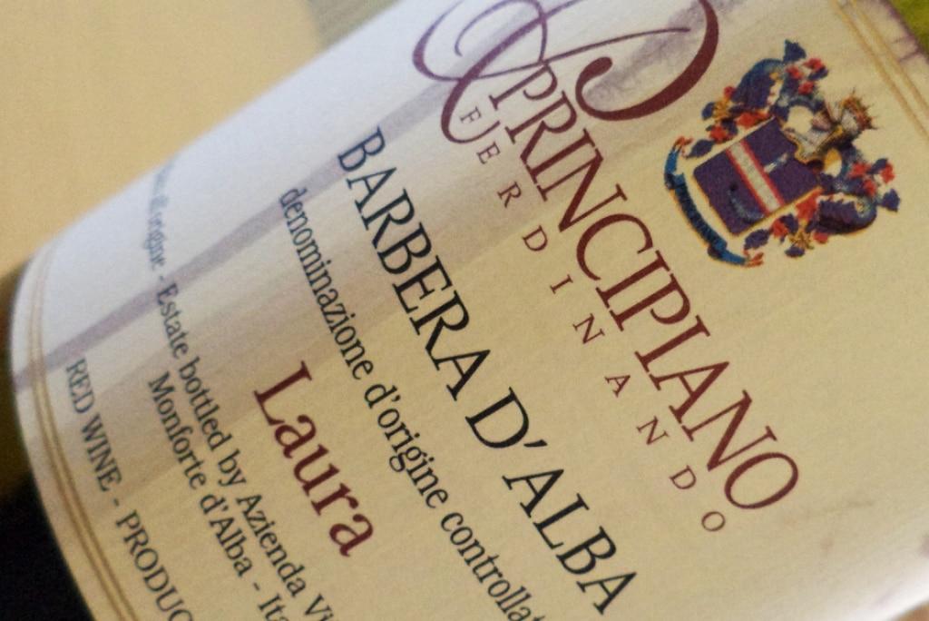 DOC Barbera d'Alba Laura – Ferdinando Principiano 2011