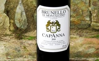 DOCG Brunello di Montalcino – Capanna 2010