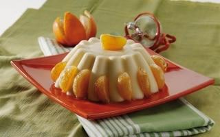 Budino al mandarino caramellato