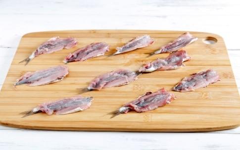 Preparazione Sardine ripiene - Fase 1