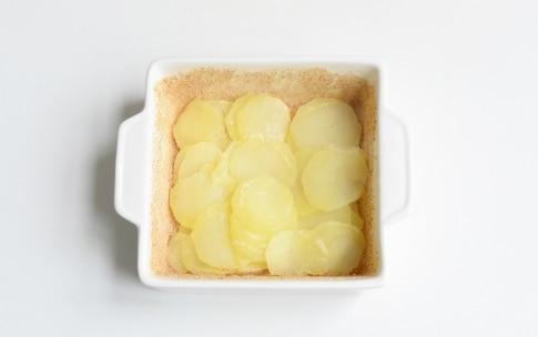 Preparazione Sformato di patate, pecorino e salame - Fase 2