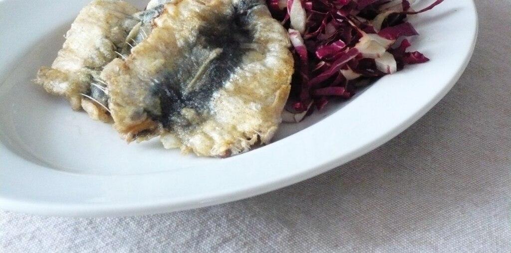 Sardine fritte in crosta di farro