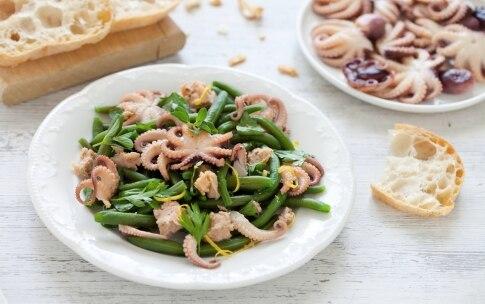 Preparazione Insalata di moscardini e fagiolini - Fase 2