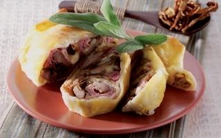 Carne ripiena in crosta