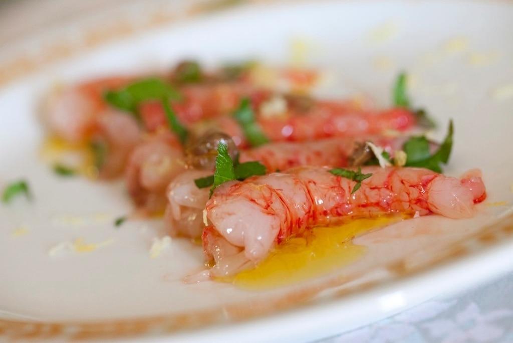Ricetta crudo di gamberi cucchiaio d 39 argento for Ricette gambero rosso