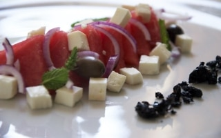 Insalta di anguria alla greca