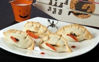 Fagottini spinaci e ricotta di Halloween