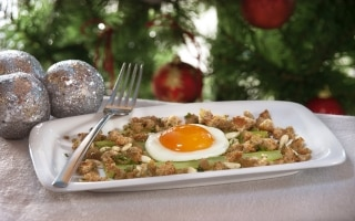 Sedano in vinaigrette con uova