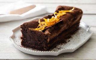 Torta morbida al profumo di arancia