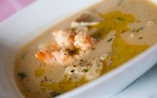 Zuppa di pesce allo zafferano