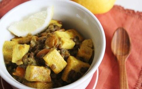 Preparazione Tofu e lenticchie alle spezie - Fase 4