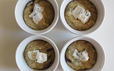 Preparazione Tortini di topinambur e patate al gorgonzola - Fase 2