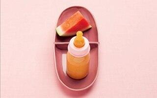 Frullato di frutta al succo d'arancia