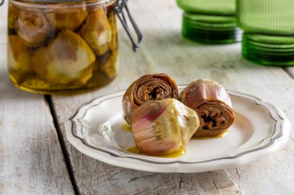 Ricetta carciofini sott 39 olio cucchiaio d 39 argento for Cucinare i carciofi