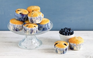 Muffin ai mirtilli con il Bimby