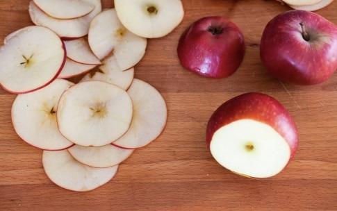 Preparazione Chips di mela - Fase 1