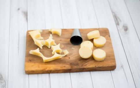 Preparazione Spiedini di polenta e formaggio - Fase 2