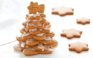 Alberello di Natale di pan di zenzero