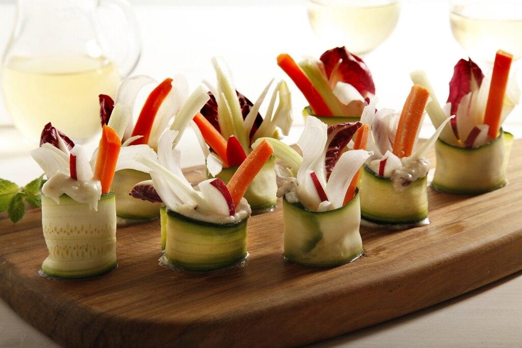 Ricetta involtini di verdure cucchiaio d 39 argento for Idee per aperitivo a casa