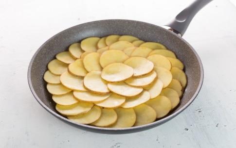 Preparazione Pizza di patate alla Bismarck - Fase 1