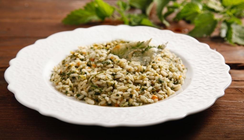 Ricetta risotto alle ortiche cucchiaio d 39 argento for Cucinare risotto