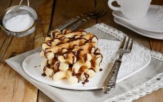 Waffle alla Nutella