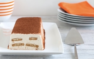 Frozen yogurt tiramisù