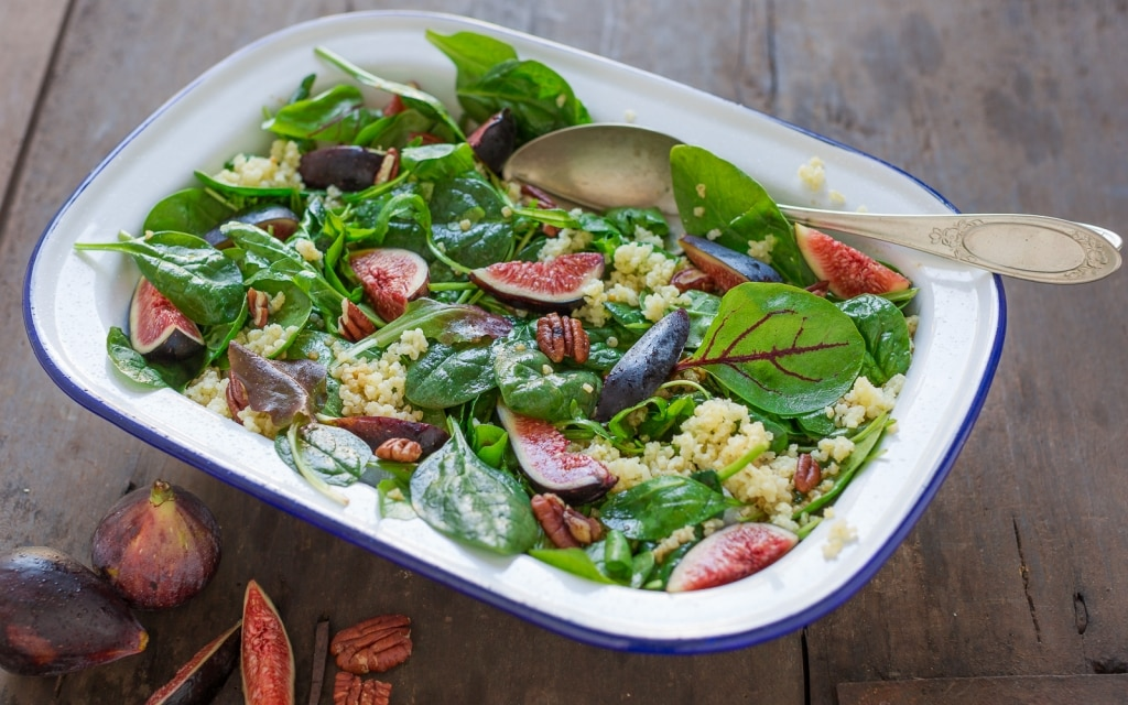 Ricetta insalata di miglio fichi e noci all 39 aceto for Insalate ricette
