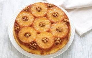 Torta upside down all'ananas