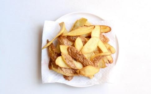 Preparazione Bucce di patate fritte - Fase 2