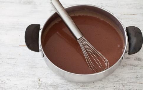 Preparazione Panna cotta al cioccolato - Fase 3