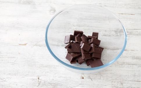 Preparazione Panna cotta al cioccolato - Fase 2