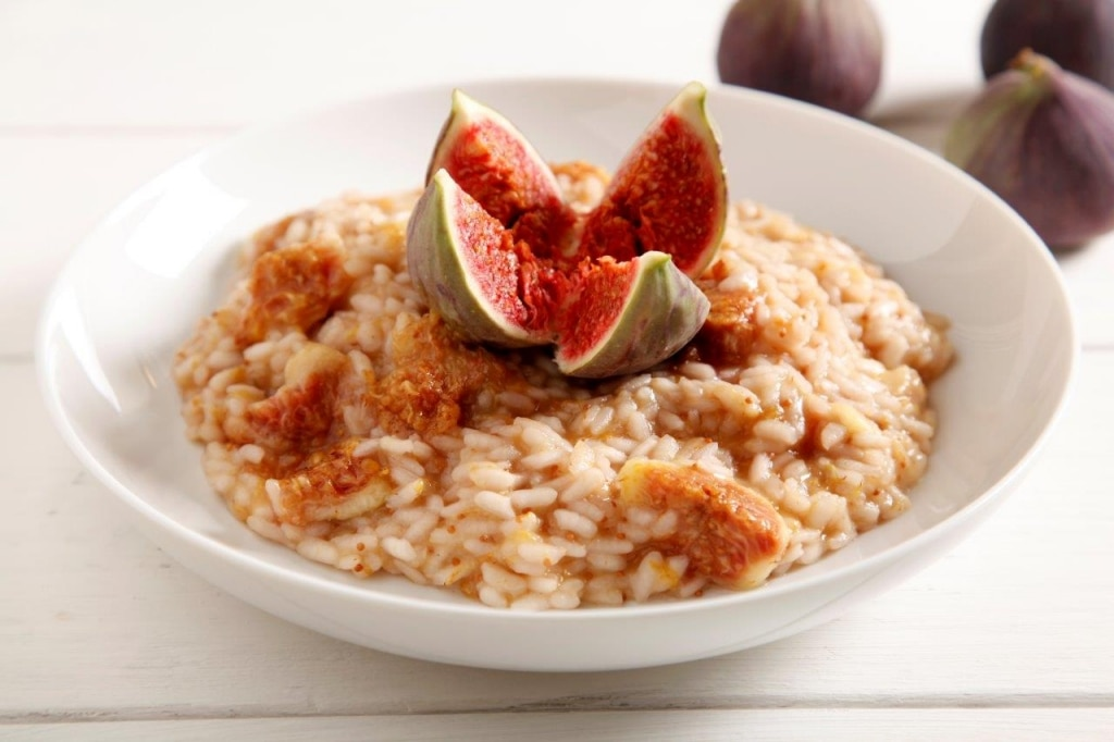 Ricetta risotto ai fichi cucchiaio d 39 argento for Risotto ricette