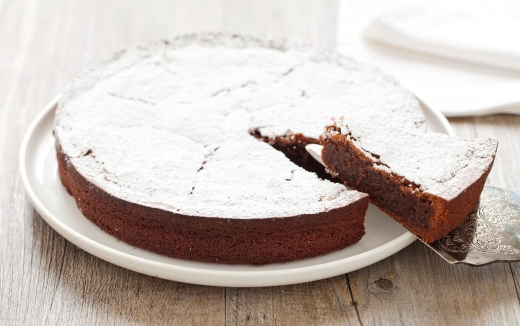 Ricetta torta caprese con il bimby cucchiaio d 39 argento for Ricette bimby torte