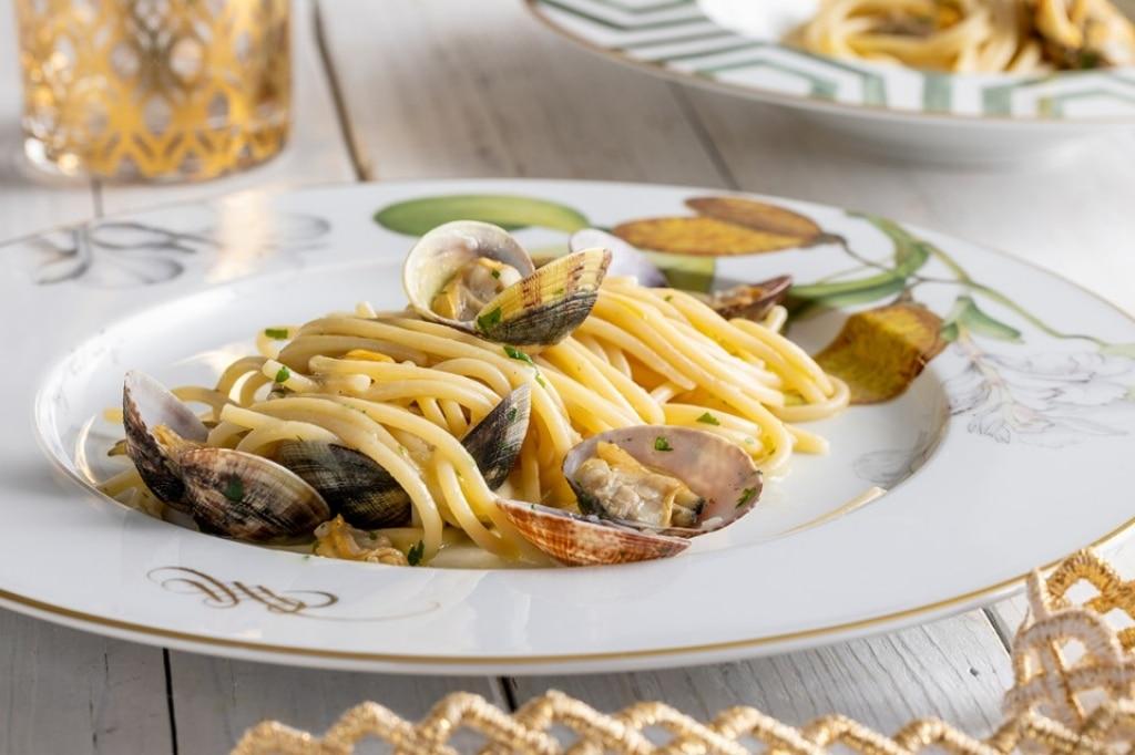 Ricetta spaghetti alle vongole cucchiaio d 39 argento for Spaghetti ricette