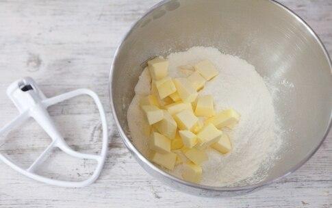 Preparazione Crostata cappuccino - Fase 1