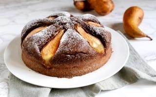 Torta pere e cacao facilissima