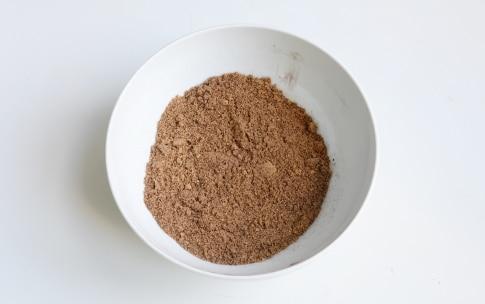 Preparazione Cheesecake arancia e cioccolato - Fase 1