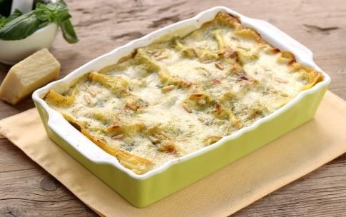 Preparazione Lasagne al pesto - Fase 3