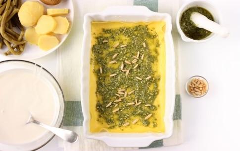 Preparazione Lasagne al pesto - Fase 2