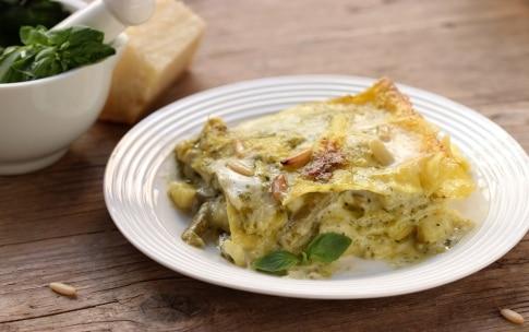 Preparazione Lasagne al pesto - Fase 4