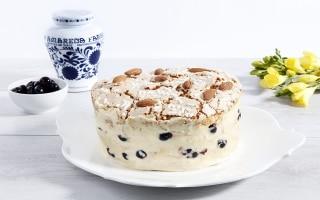 Naked Cake colomba e amarene