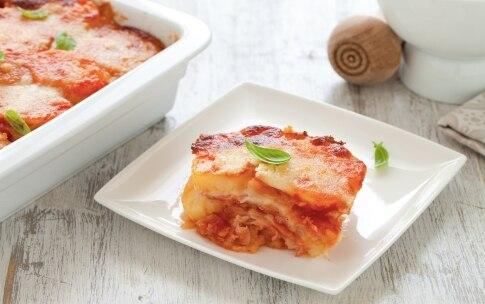 Preparazione Patate, pomodoro e pancetta al forno - Fase 4