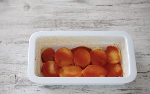 Preparazione Patate, pomodoro e pancetta al forno - Fase 2