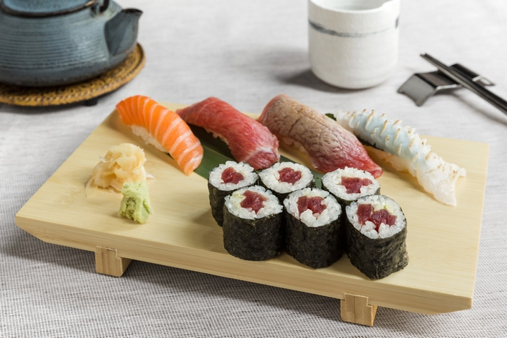Sushi misto di nigiri e hosomaki