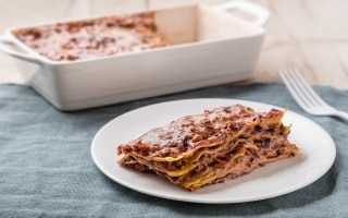 Lasagne senza glutine al radicchio rosso
