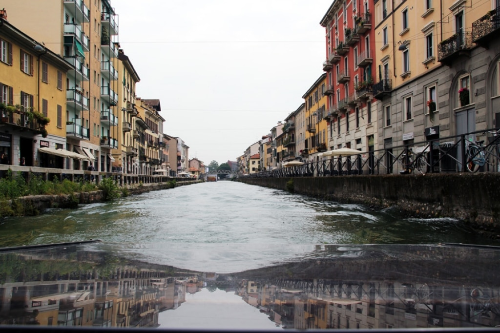 All'Antica Osteria del Ponte navigando lungo il Naviglio
