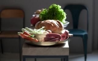 Il menu del pranzo