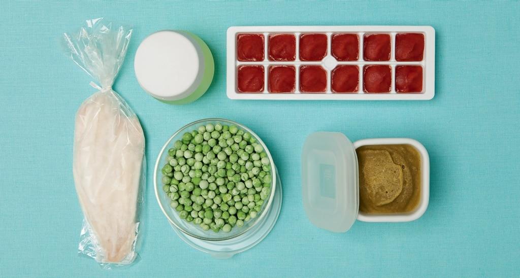Come organizzarsi: freezer da pronto intervento pappa